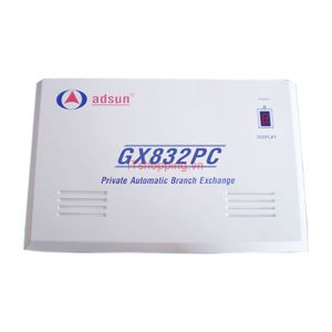 Tổng đài  GX832PC  8CO/24EXT