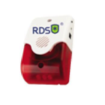 Còi hụ có tích hợp đèn – Không dây RDS SMLBW02